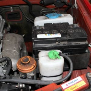 Jimny 2. akkumulátor tartó (ABS)