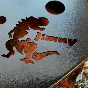 Jimny terepváltó védő